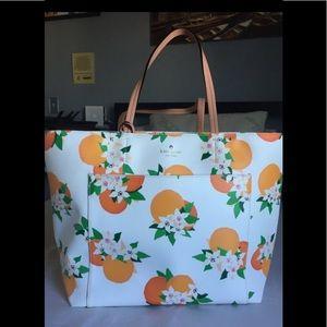 Kate Spade Oranges Citrus Tote